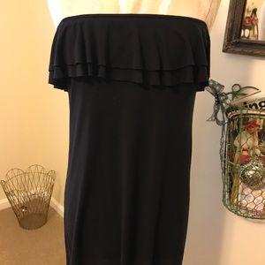 Victoria's Secret Black beach coverup dress XS